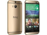 HTC One M9 gold on gold 64GB